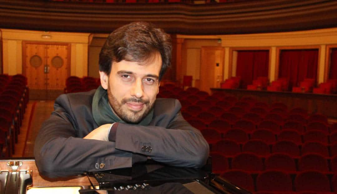 Imagen noticia - El pianista Iván Martín vuelve al Teatro Pérez Galdós