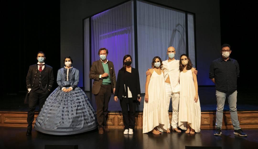Imagen noticia - La historia de Clara Schumann llega al Teatro Pérez Galdós con el estreno absoluto de 'Ad Libitum'
