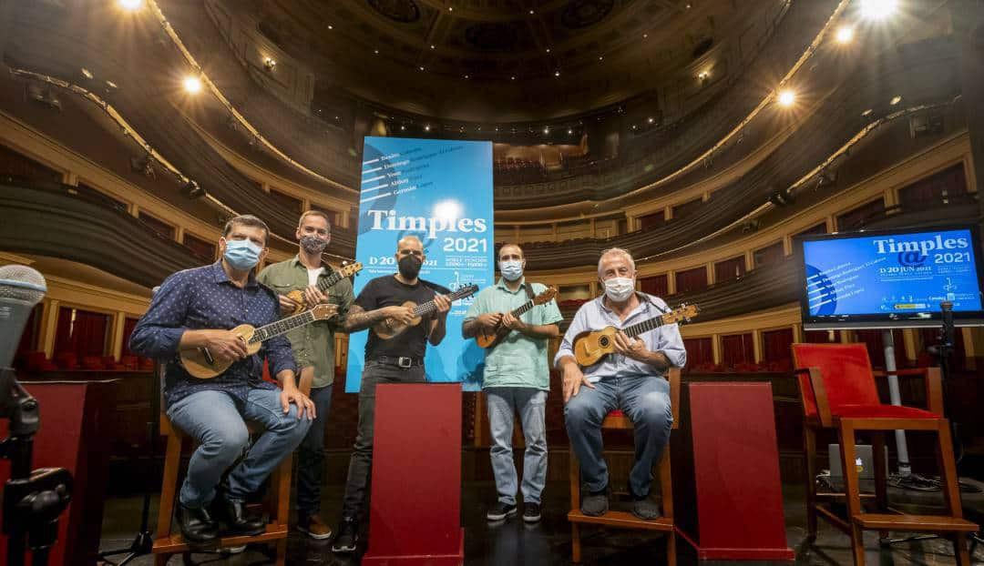 El espectáculo 'Timples@2021' se estrenará el 20 de junio en el Teatro Pérez Galdós