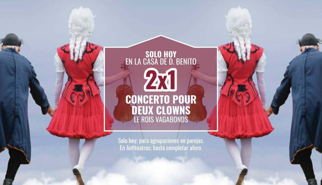 Concerto pour deux clowns, una oferta para toda la familia