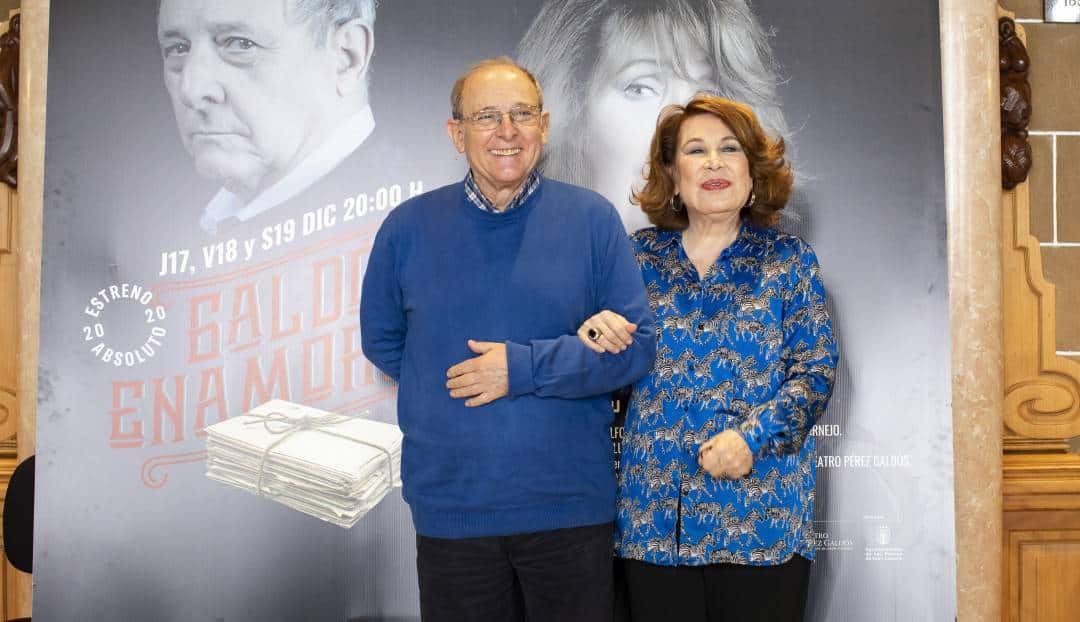 Imagen noticia - El Teatro Pérez Galdós estrena 'Galdós enamorado' con María José Goyanes y Emilio Gutiérrez Caba