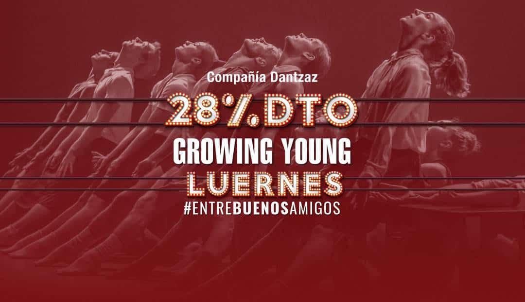Imagen noticia - Hoy, lunes 28 disfruta de un 28% de descuento en danza
