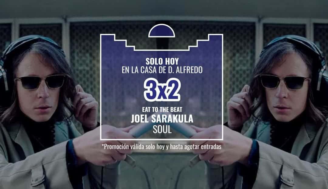 Imagen noticia - Hoy, oferta para el sonido británico de Joel Sarakula