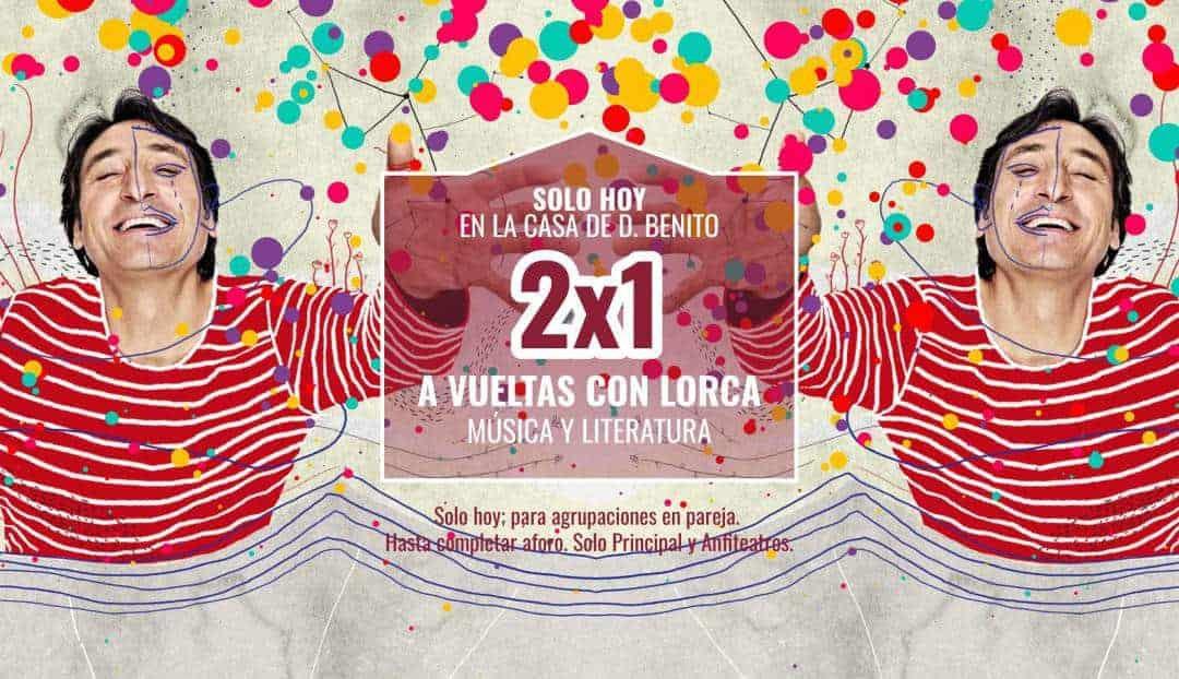 Promoción 2x1 para A vueltas con Lorca