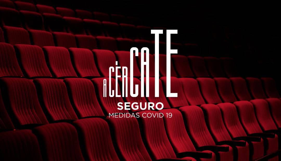 Acércate seguro al Teatro Pérez Galdós