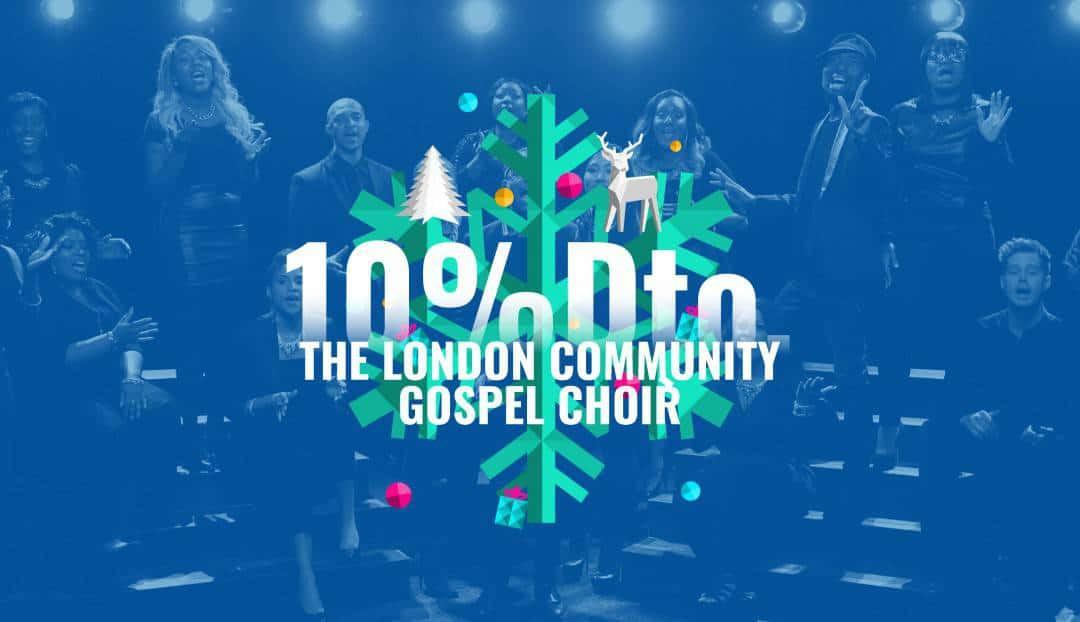 Imagen noticia - El Gospel vuelve por Navidad. Compra tu entrada con un 10% de descuento