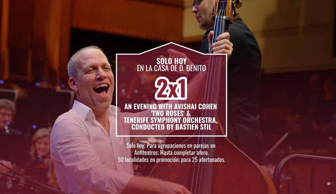 Imagen noticia - Avishai Cohen y la Orquesta Sinfónica de Tenerife, promoción 2x1