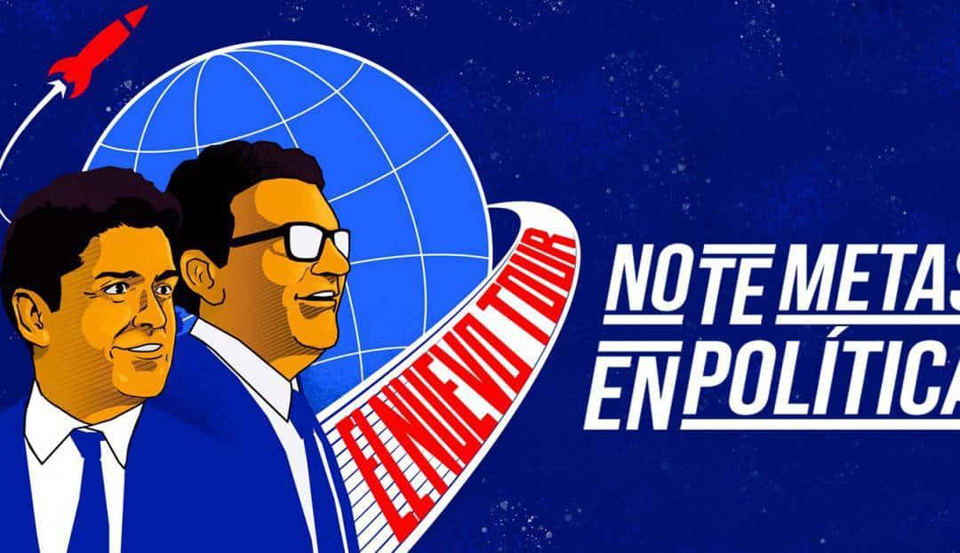 Imagen noticia - No te metas en política con Miguel Maldonado y Facu Díaz