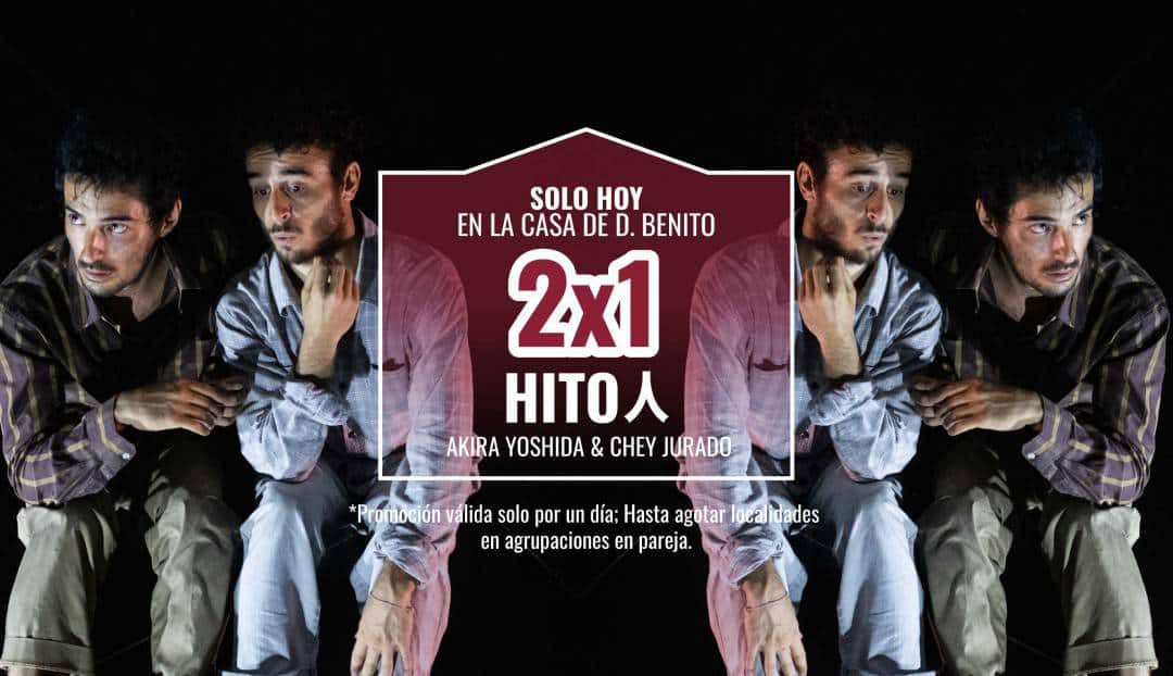 Danza: promoción 2x1 para Hito