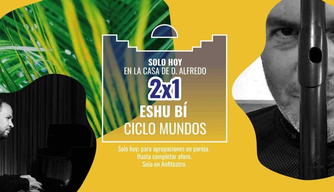 El jazz y los ritmos latinos de Eshu Bí, hoy en promoción