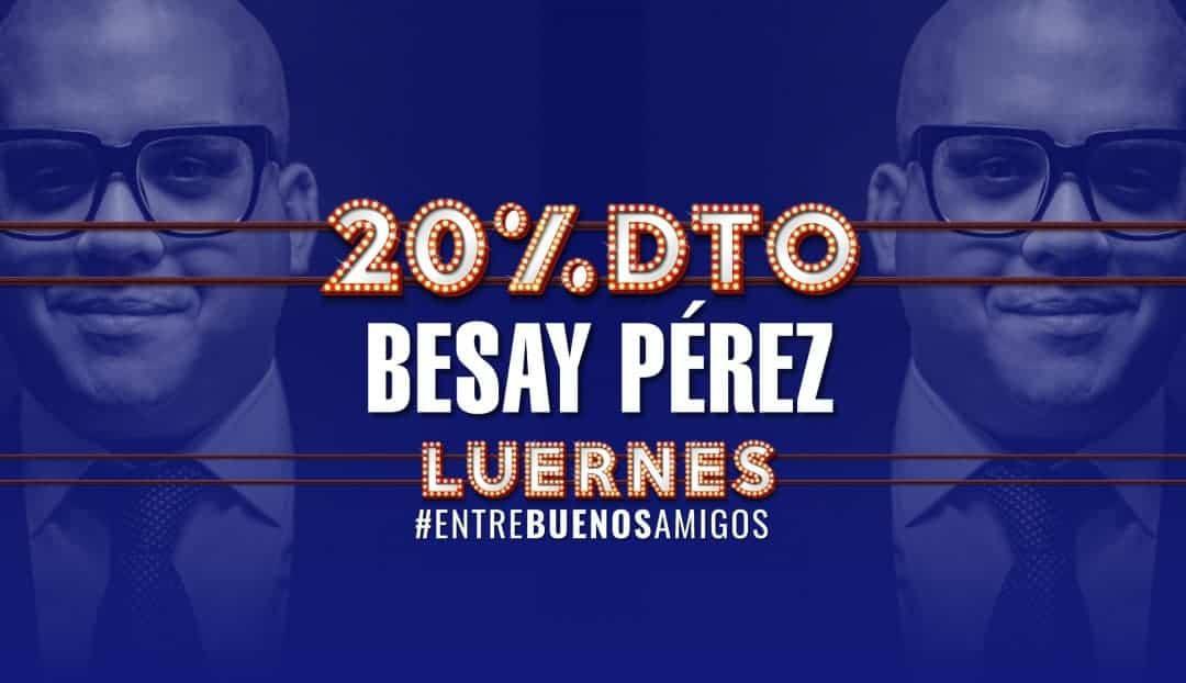 Imagen noticia - Besay Pérez, una de las grandes voces de Canarias