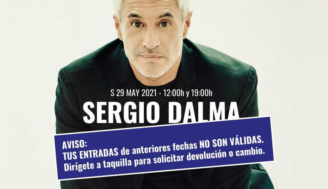 Aviso: se necesitan nuevas entradas para el concierto de Sergio Dalma