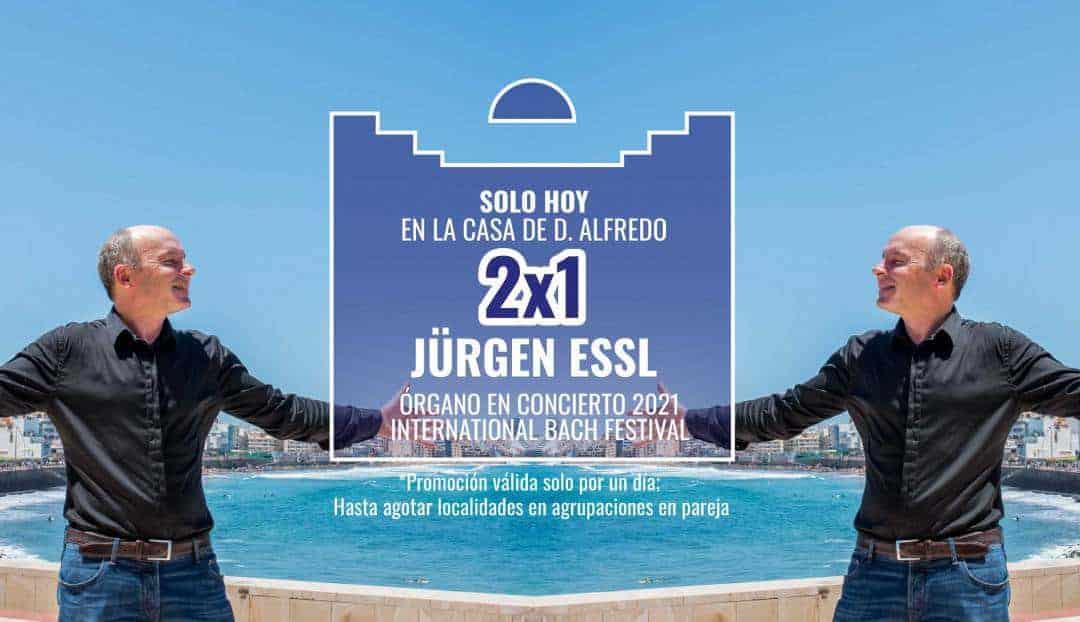 Imagen noticia - Hoy, promoción 2x1 para el concierto de Jürgen Essl