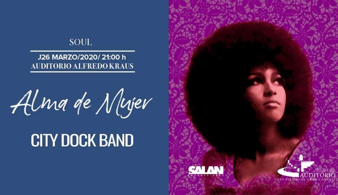 Imagen noticia - City Dock Band: soul para rendir tributo a las mujeres