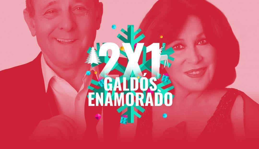 Imagen noticia - Nuestra oferta navideña de hoy: oferta 2x1 en Galdós Enamorado.