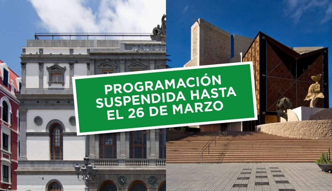 Imagen noticia - El Auditorio Alfredo Kraus y el Teatro Pérez Galdós anuncian la suspensión de espectáculos hasta el 26 de marzo.