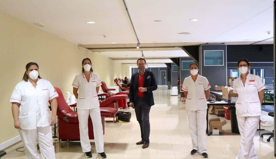 Imagen noticia - El Auditorio y el ICHH ponen en marcha una sala temporal de donación de sangre