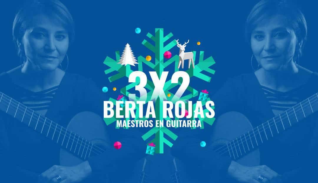 Imagen noticia - Berta Rojas es una de las mejores guitarristas del mundo. Hoy al mejor precio.